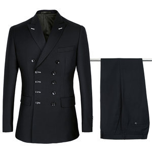 2 pièces hommes noir hommes mariage costumes costume homme mariage slim fit terno